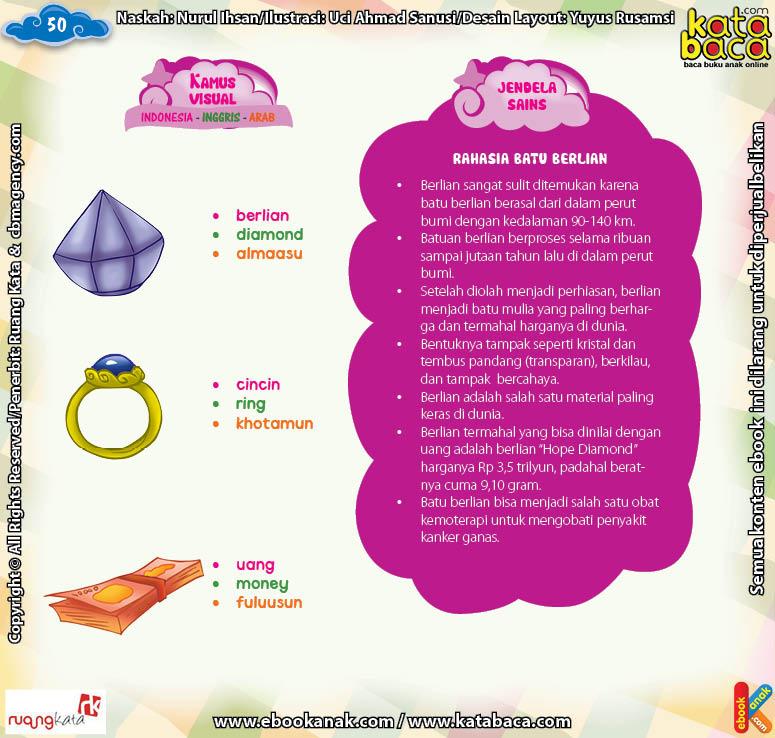 Download Ebook Juz Amma Bergambar 3 Bahasa for Kids, Jendela Sains Rahasia Batu Berlian
