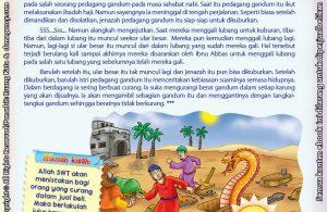 Download Ebook Juz Amma Bergambar 3 Bahasa for Kids, Kisah Peneguh Keimanan, Muncul Ular Besar dari dalam Kubur