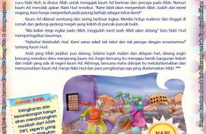 Download Ebook Juz Amma Bergambar 3 Bahasa for Kids, Kisah Peneguh Keimanan, Peneguh Keimanan, Angin kencang Selama 8 Hari