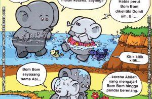 Download Ebook Seri Balita Shalih, Menyayangi Keluarga, Abi Mengajari Berenang