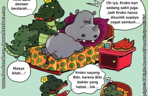 Download Ebook Seri Balita Shalih, Menyayangi Keluarga, Bibiku Seorang Dokter