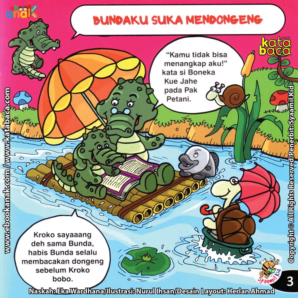 Download Ebook Seri Balita Shalih, Menyayangi Keluarga, Bundaku Suka Mendongeng