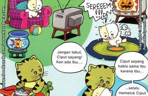 Download Ebook Seri Balita Shalih Menyayangi Keluarga, Ibuku Suka Memeluk Aku