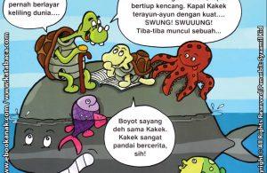 Download Ebook Seri Balita Shalih, Menyayangi Keluarga, Kakekku Pandai Bercerita
