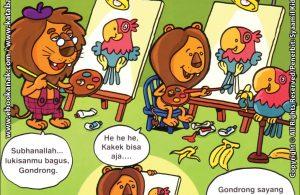 Download Ebook Seri Balita Shalih, Menyayangi Keluarga, Kakekku Pandai Melukis