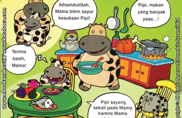 Download Ebook Seri Balita Shalih Menyayangi Keluarga, Masakan Mamaku Lezat