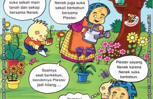 Download Ebook Seri Balita Shalih, Menyayangi Keluarga, Nenek Suka Mengajakku Berkebun