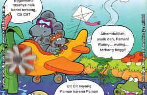 Download Ebook Seri Balita Shalih, Menyayangi Keluarga, Pamanku Seorang Pilot