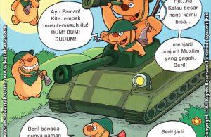 Download Ebook Seri Balita Shalih, Menyayangi Keluarga, Pamanku Seorang Prajurit