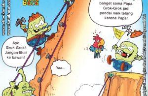 Download Ebook Seri Balita Shalih, Menyayangi Keluarga, Papa Mengajariku Panjat Tebing