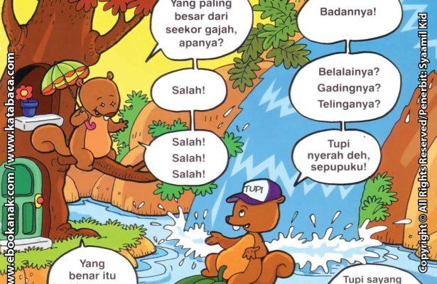 Download Ebook Seri Balita Shalih, Menyayangi Keluarga, Sepupuku Jago Main Tebak-Tebakan