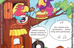 Download Ebook Seri Balita Shalih, Menyayangi Keluarga, Sepupuku Pandai Bernyanyi