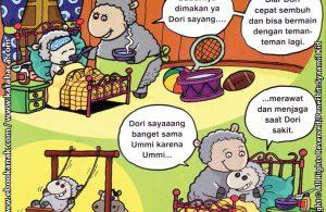 Download Ebook Seri Balita Shalih Menyayangi Keluarga, Umi yang Merawat dan Menjagaku