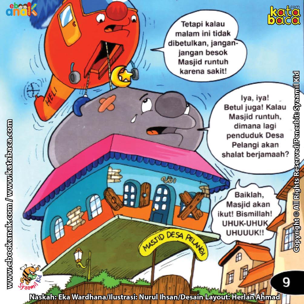 Download Ebook Seri Balita Shalih, Menyayangi Masjid, Bagaimana Jika Masjid Runtuh