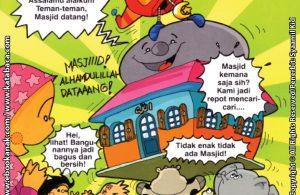 Download Ebook Seri Balita Shalih, Menyayangi Masjid, Masjid Akhirnya Datang