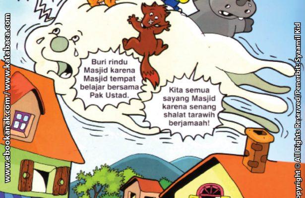 Download Ebook Seri Balita Shalih, Menyayangi Masjid, Mencari Masjid Naik Awan