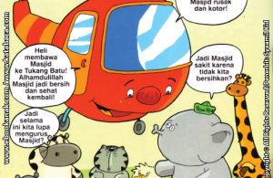 Download Ebook Seri Balita Shalih, Menyayangi Masjid, Penduduk Desa Pelangi Lupa Merawat Masjid