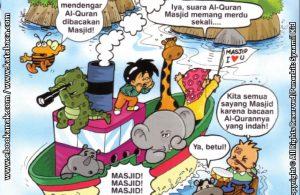 Download Ebook Seri Balita Shalih, Menyayangi Masjid, Penghuni Desa Pelangi Mencari Masjid