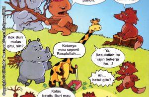 Download ebook Seri Balita Shalih, Menyayangi Rasulullah, Beru Rajin Bekerja
