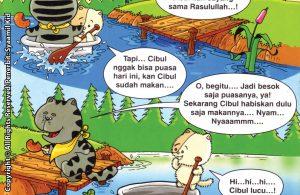 Download ebook Seri Balita Shalih, Menyayangi Rasulullah, Cibul dan Ciput Rajin Puasa