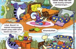 Download ebook Seri Balita Shalih, Menyayangi Rasulullah, Domli Selalu Menjaga Kebersihan