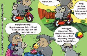 Download ebook Seri Balita Shalih, Menyayangi Rasulullah, Dori Domba Selalu Jujur