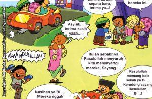 Download ebook Seri Balita Shalih, Menyayangi Rasulullah, Peci dan Kerudung Sayang Anak Yatim