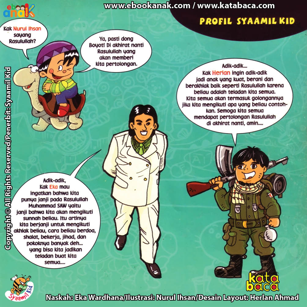 Download ebook Seri Balita Shalih, Menyayangi Rasulullah, Profil Tim Kreatif