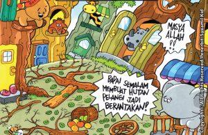 Download ebook Seri Balita Shalih, Menyayangi Rasulullah, Rasulullah Rajin Bekerja