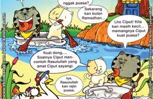 Download ebook Seri Balita Shalih, Menyayangi Rasulullah, Rasulullah Rajin Puasa