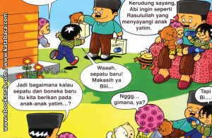 Download ebook Seri Balita Shalih, Menyayangi Rasulullah, Rasulullah Sayang Anak Yatim