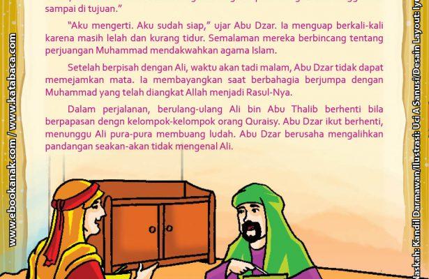 Download Ebook Abu Dzar Al Ghifari, Bagaimana Cara Abu Dzar Bertemu Rasulullah