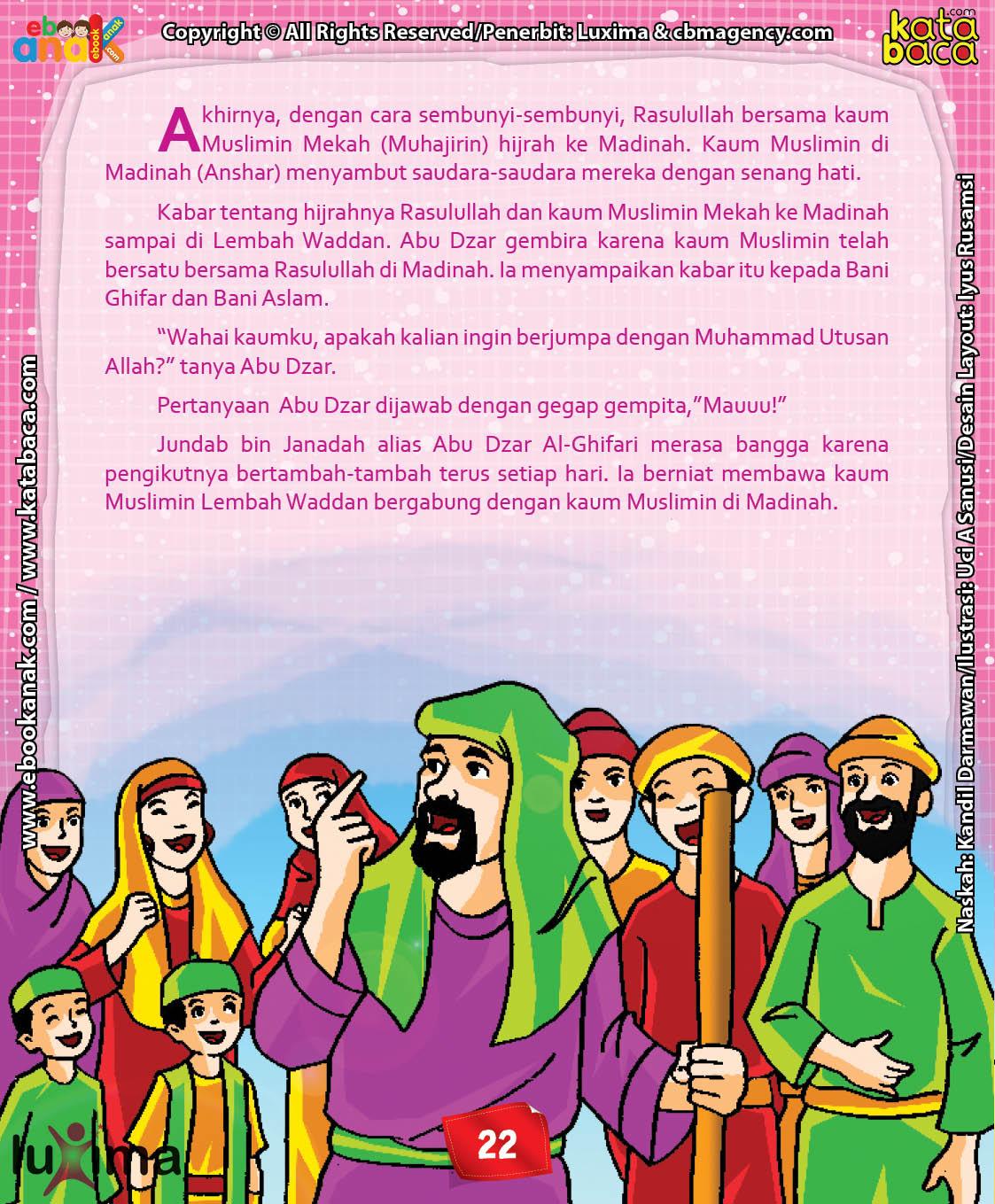 Download Ebook Abu Dzar Al Ghifari, Inilah Kabar yang Membuat Abu Dzar Gembira