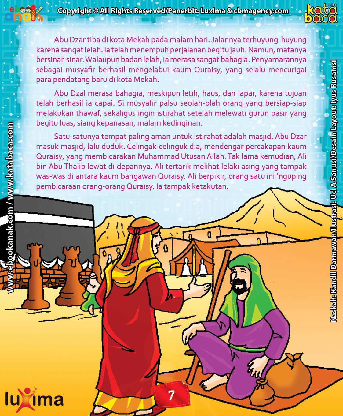 Download Ebook Abu Dzar Al Ghifari, Keanehan Abu Dzar Al Ghifari Saat Bertemu Ali bin Abu Thalib