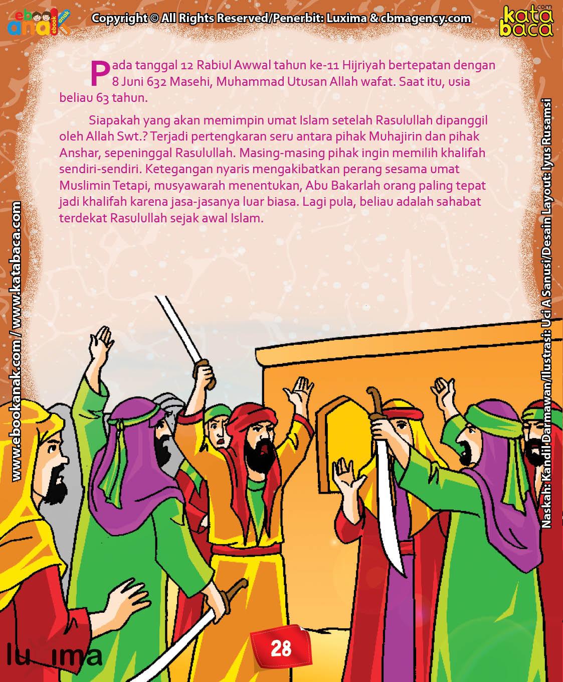 Download Ebook Abu Dzar Al Ghifari, Kenapa Kaum Muhajirin dan Anshar Berselisih