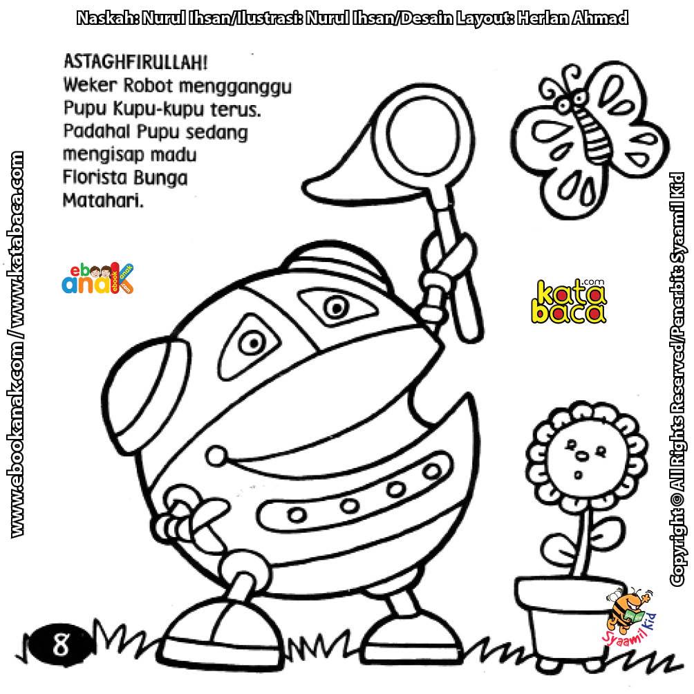 Sayangi Kupu Kupu Karena Kupu Kupu Membantu Penyerbukan Bunga Ebook Anak
