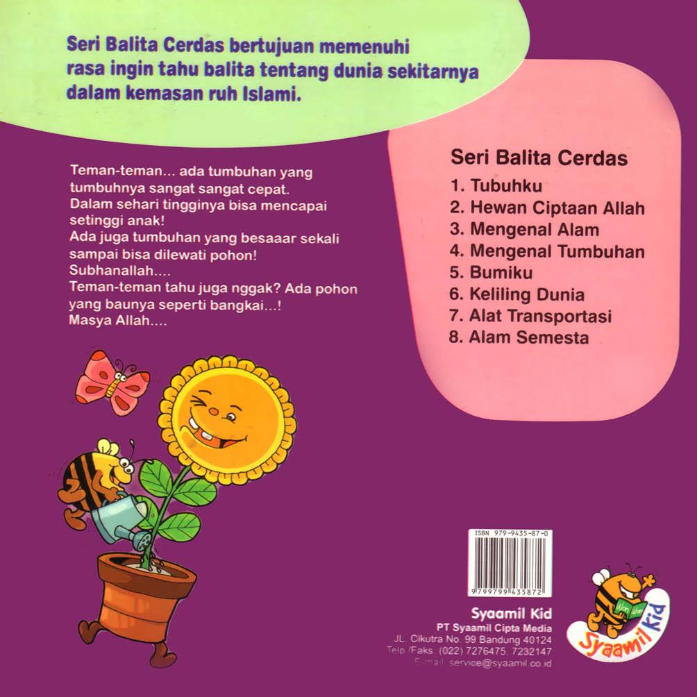 cover belakang download ebook anak seri balita cerdas mengenal tumbuhan