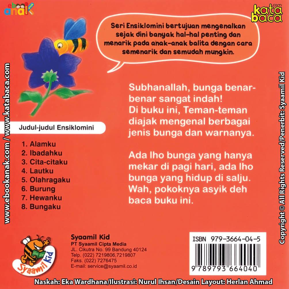 cover belakang download ebook seri ensiklomini bungaku