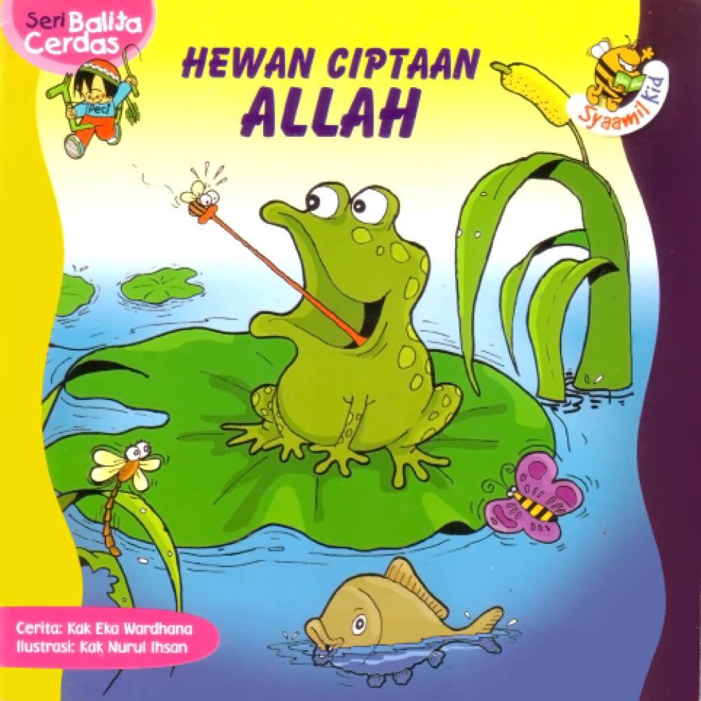 cover depan download ebook anak seri balita cerdas hewan ciptaan allah