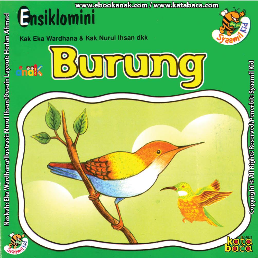cover depan download ebook seri ensiklomini burung