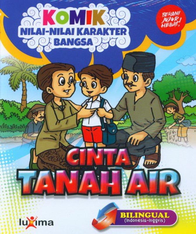 download ebook cover depan komik nilai nilai karakter bangsa cinta tanah air