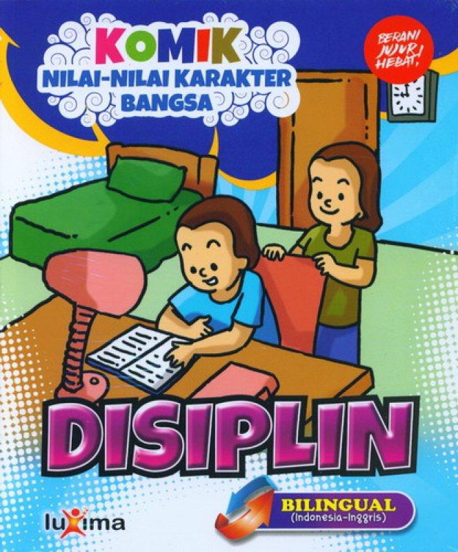 download ebook cover depan komik nilai nilai karakter bangsa disiplin