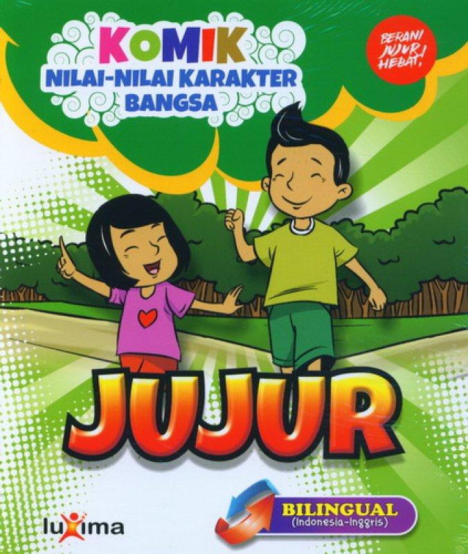 download ebook cover depan komik nilai nilai karakter bangsa jujur