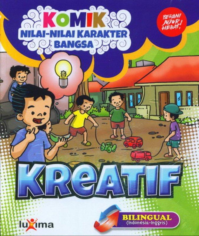 download ebook cover depan komik nilai nilai karakter bangsa kreatif