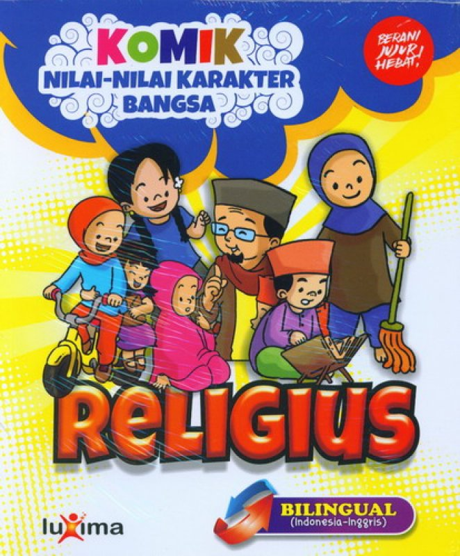 download ebook cover depan komik nilai nilai karakter bangsa religius