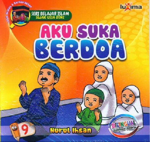 download ebook cover depan seri belajar islam sejak usia dini aku suka berdoa