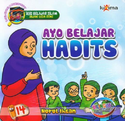 download ebook cover depan seri belajar islam sejak usia dini ayo belajar hadist