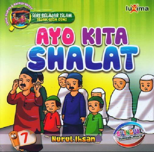 download ebook cover depan seri belajar islam sejak usia dini ayo kita shalat