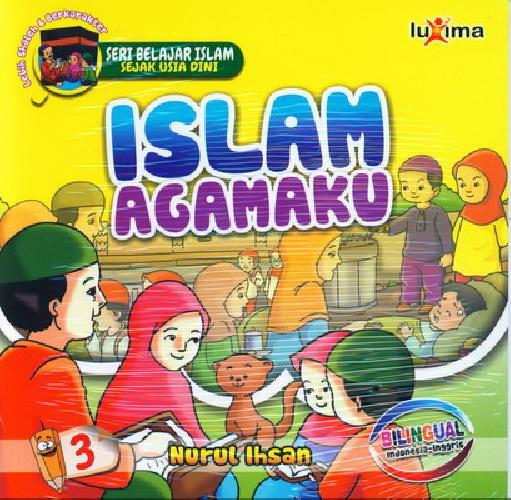 download ebook cover depan seri belajar islam sejak usia dini islam agamaku