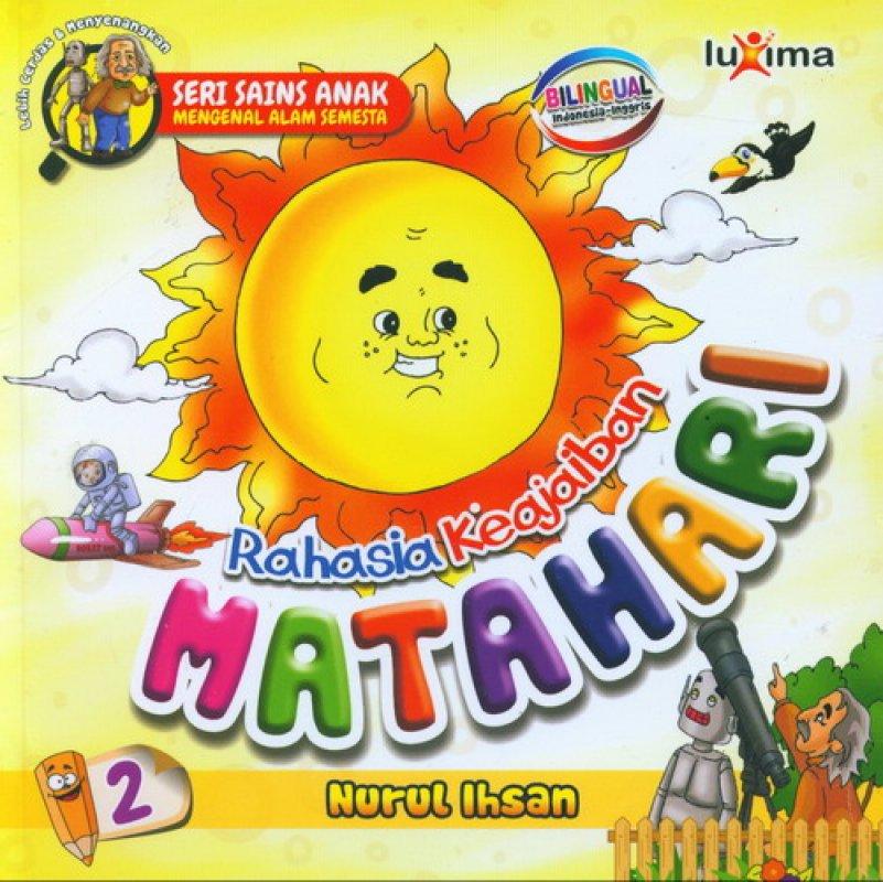 download ebook cover seri sains anak mengenal alam semesta rahasia keajaiban matahari